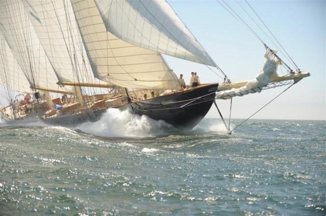 Schooner Yacht Atlantic