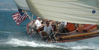 Starling Burgess 12 Meter Onawa Classic Sailboats