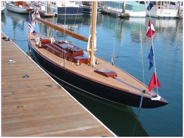 Johan Anker Leonore Classic Sailboats