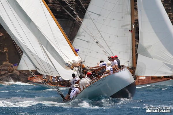 Antigua Classic Yacht Regatta 2015 The Blue Peter