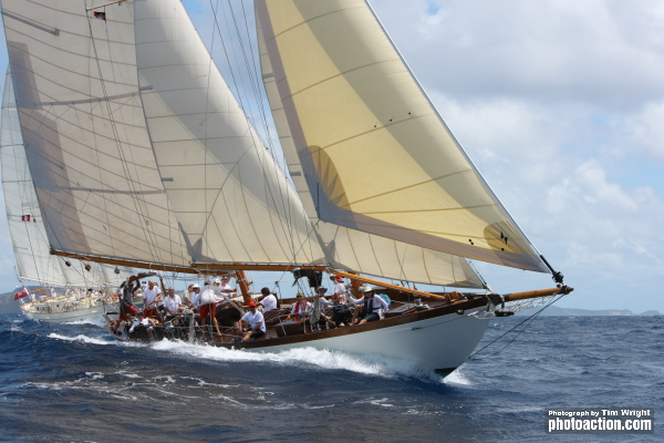 Antigua Classic Yacht Regatta 2015 Mary Rose