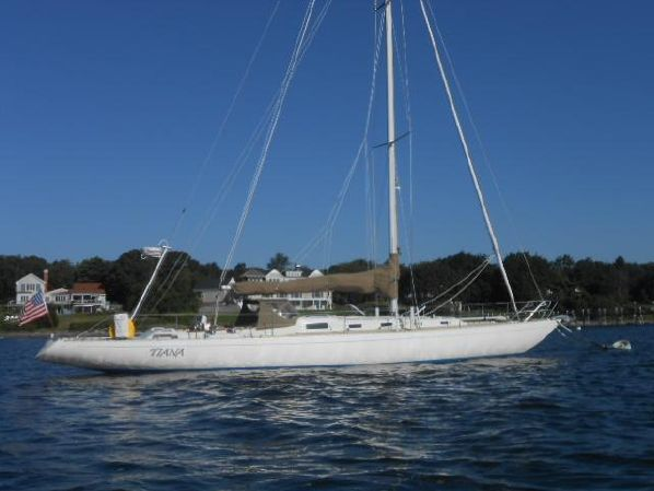 Knud Reimers Swede 55 Tiana Classic Sailboats