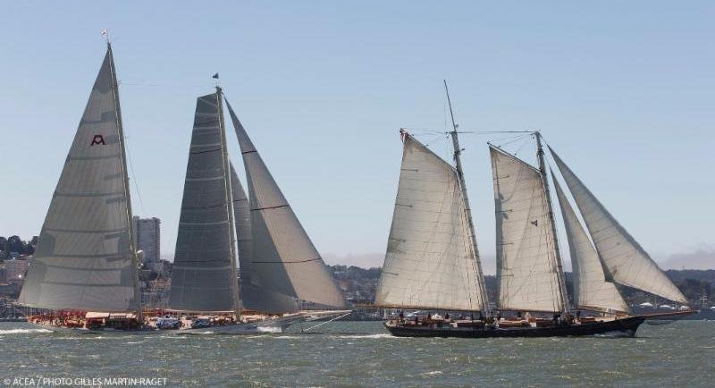The magnificent schooner America © ACEA/Photo: Giles Martin-Raget